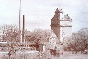 Oranienburger Dampfmühle mit Speicher