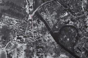 Oranienburger Mittelstadt nach den Bombenangriffen 1944/45